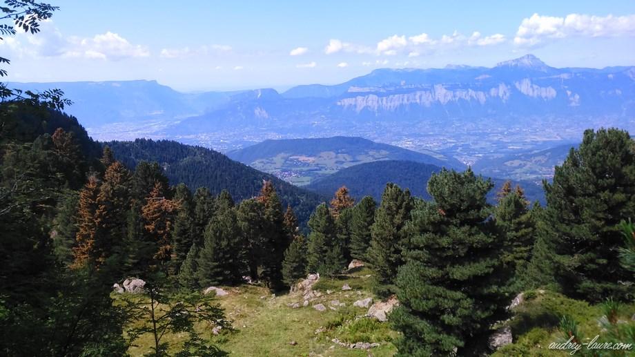 paysage montagne chamrousse