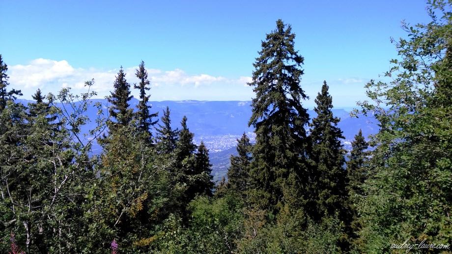 Grenoble vue depuis Chamrousse