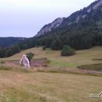 En vélo dans la plaine d'Herbouilly
