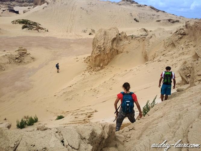 paysage désertique insulaire