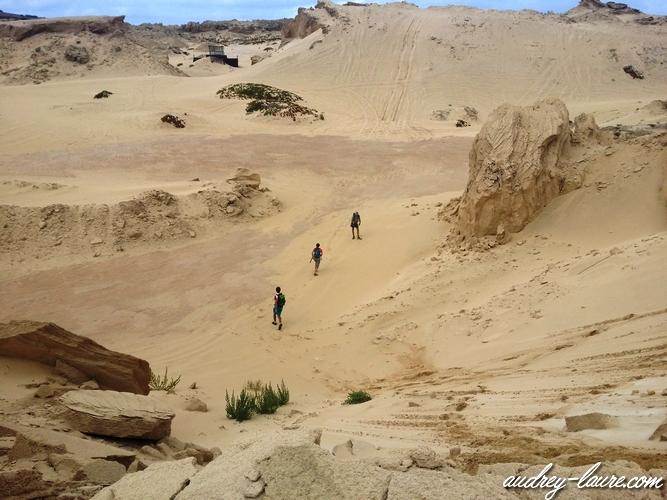 dunes de porto santo madère