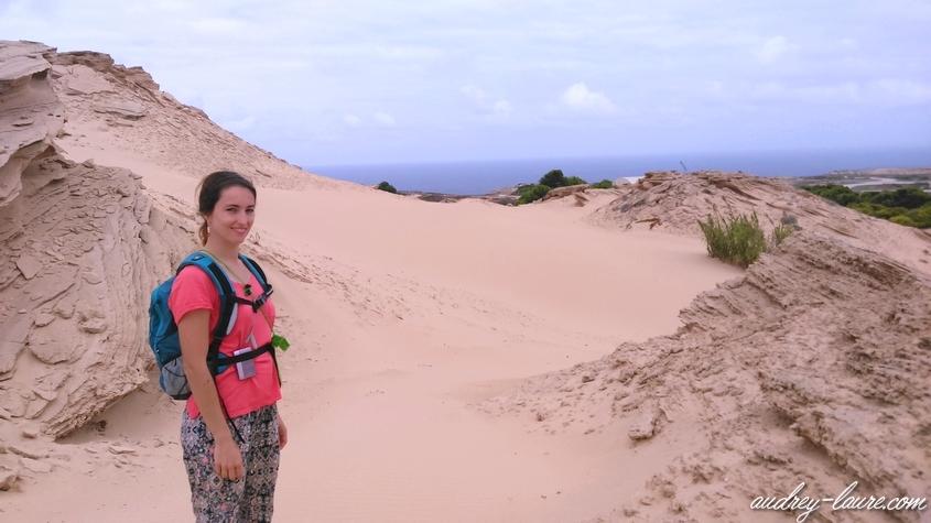 porto santo madère sable fonte da areia