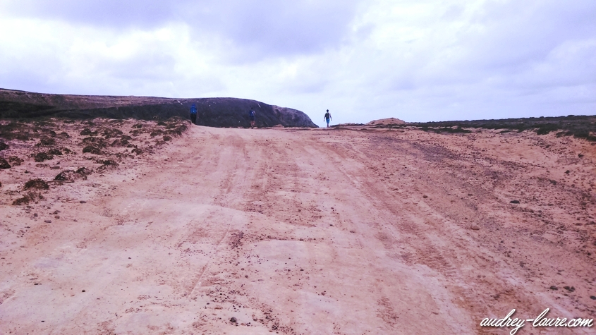 chemin porto santo madère