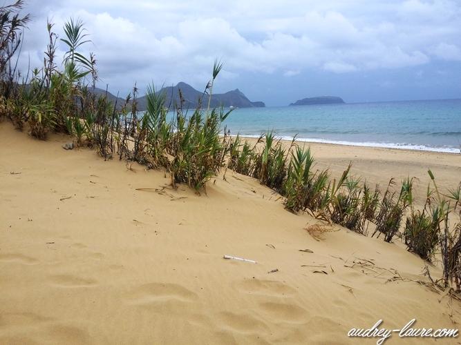 sable porto santo madère