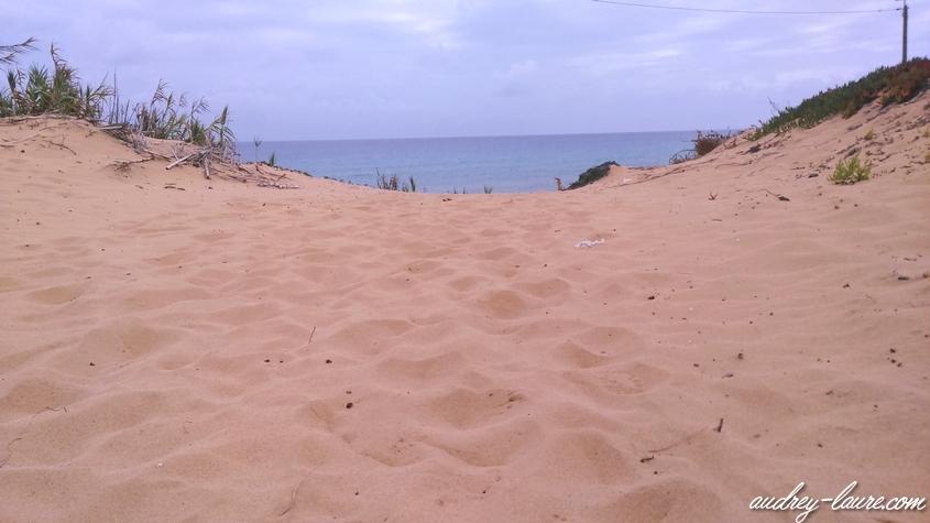 page sable porto santo