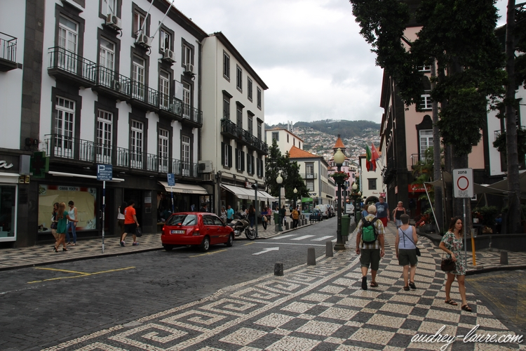 funchal capitale madère rue