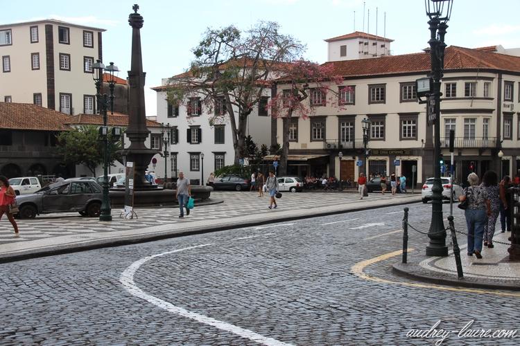 funchal centre historique madère
