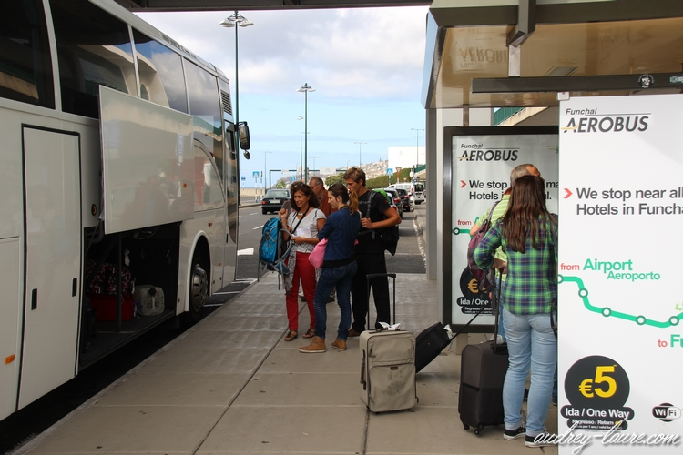 madère bus aéroport