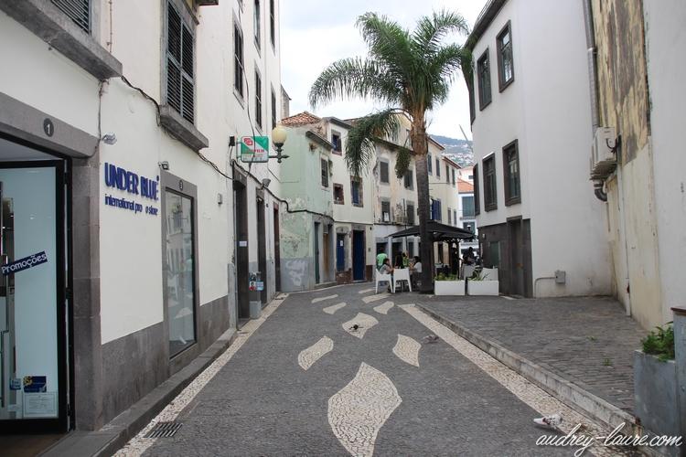 funchal capitale madère vieille ville