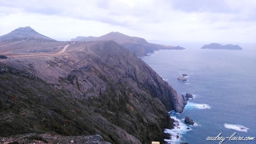 falaises porto santo madère