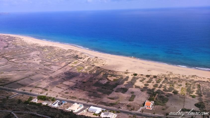 plage porto santo panorama