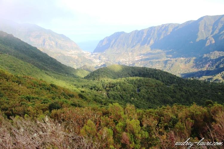paysage encumeada Madère