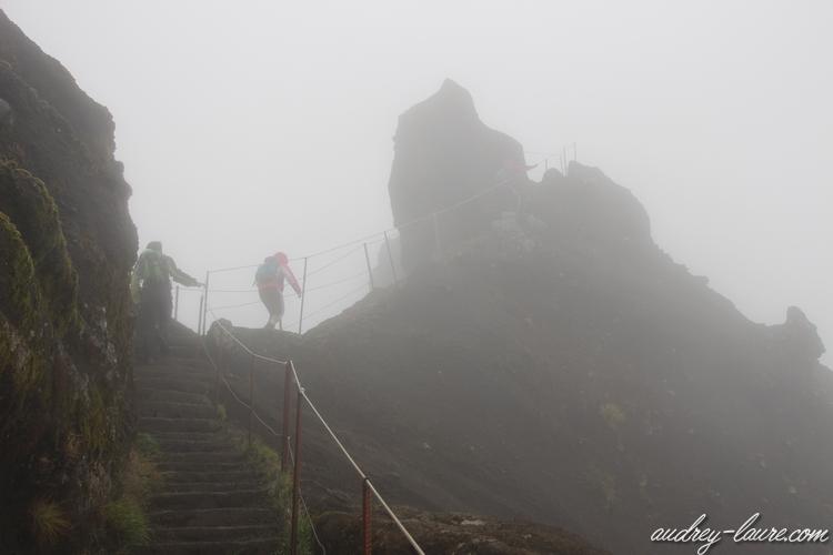 pico do arieiro falaises