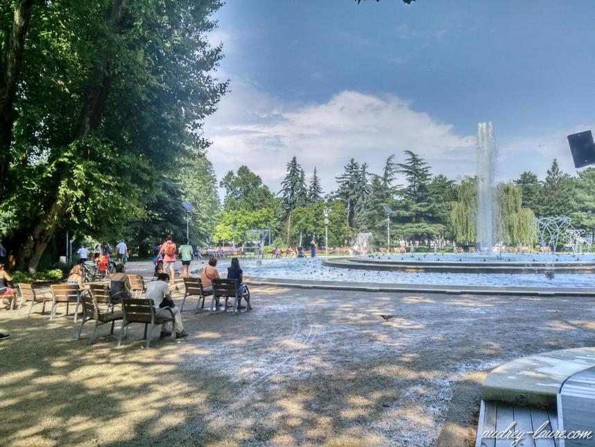 fontaine ile marguerite budapest
