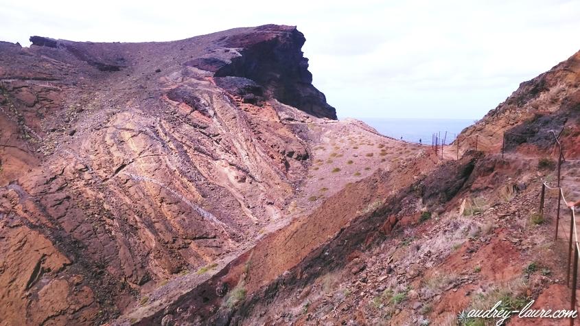 pointe saint laurent madère volcan