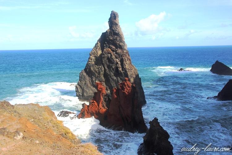 récif volcanique voyage madère