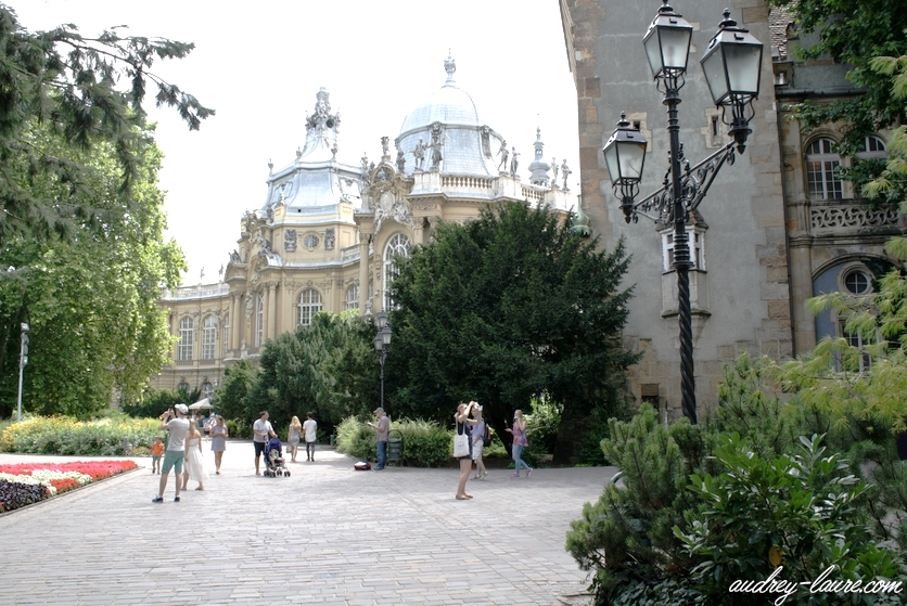 Château de Vajdahunyad voyage budapest hongrie