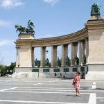 Budapest, Hongrie : la Place des Héros