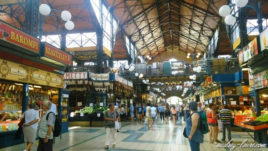 marché typique budapest halles