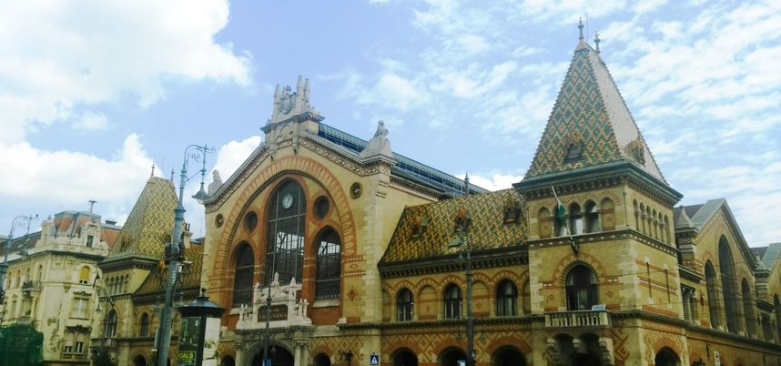 grand marché couvert budapest