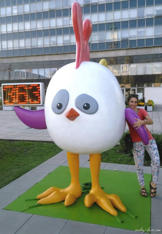 Gyor jeux olympiques jeunesse mascotte
