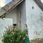 Kékkút, petit village hongrois aux toits de chaume