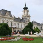 Keszthely, Hongrie : le Palais de Festetics et le Musée de la pâte d'amande