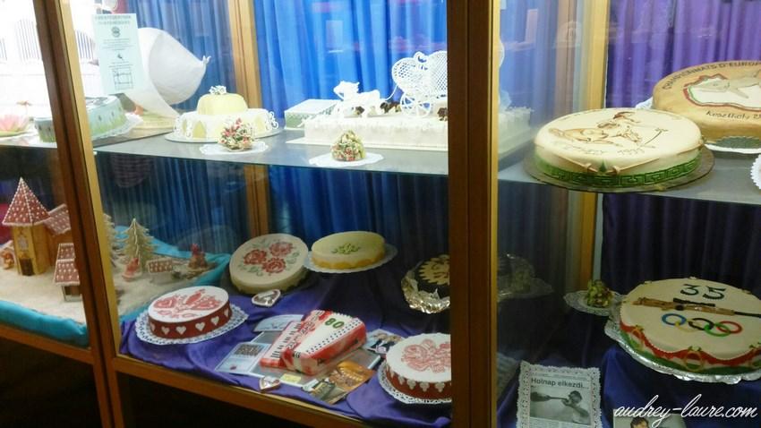 Keszthely Hongrie musee de la pate d'amandes