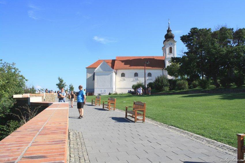 Tihany Hongrie - Eglise