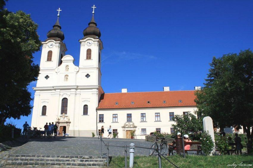 Presqu'île de Tihany voyage en Hongrie -Abbaye