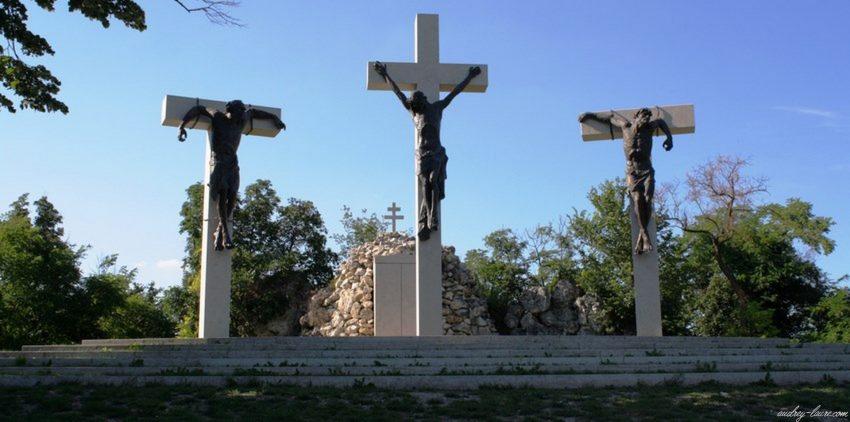 Colline de Tihany - croix