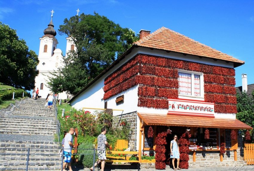 Tihany - Hongrie - Maison du paprika