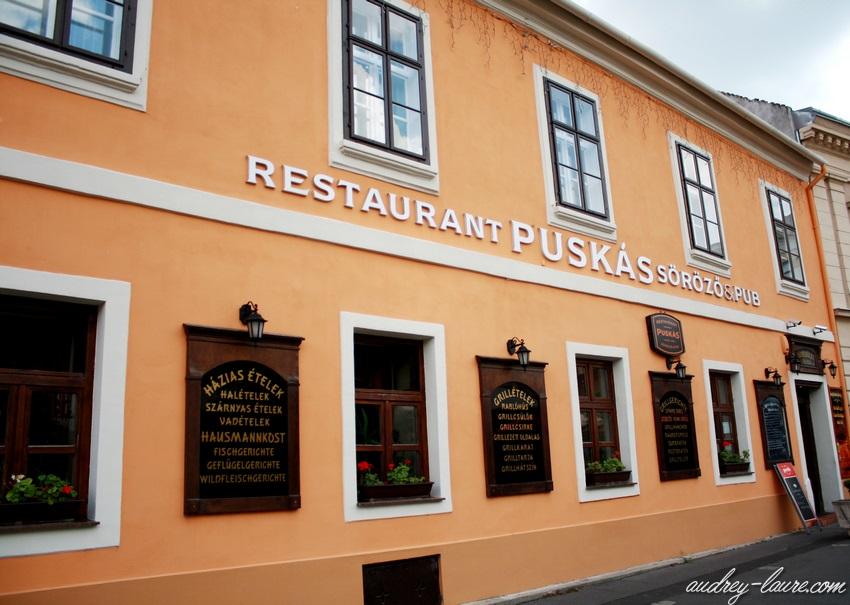 Sopron-voyage en Hongrie - façades colorées