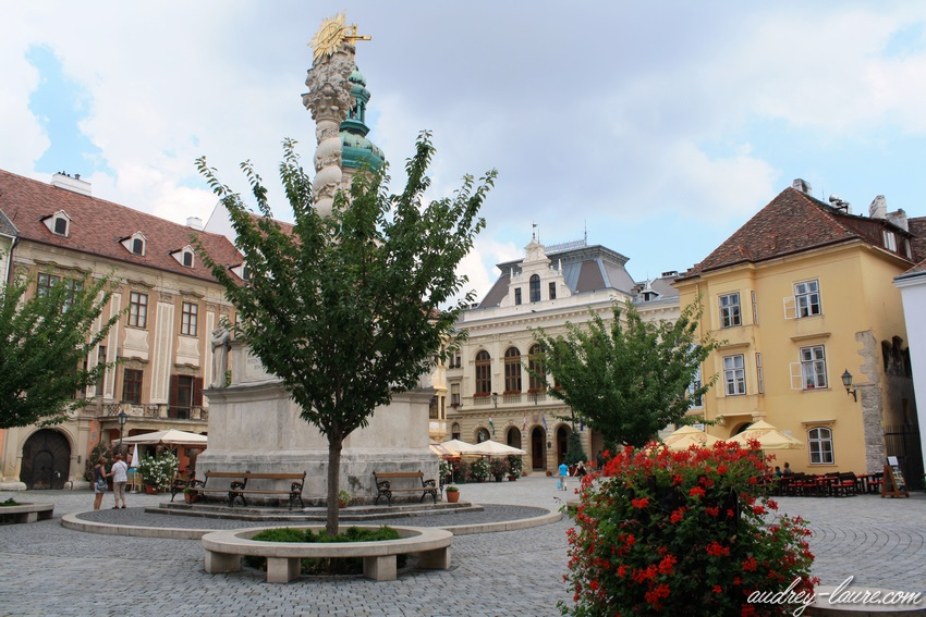 Sopron-voyage en Hongrie - tour de la lanterne