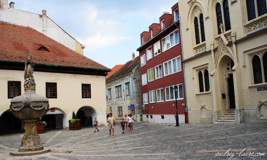 Sopron-voyage en Hongrie - place
