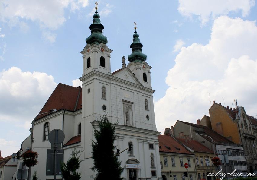 Sopron-voyage en Hongrie - Eglise des dominicains