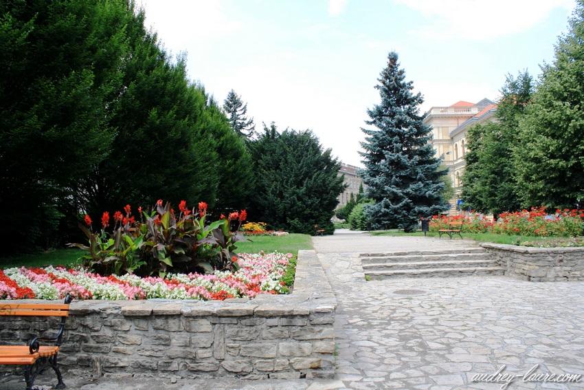 Sopron-voyage en Hongrie - place Széchenyi