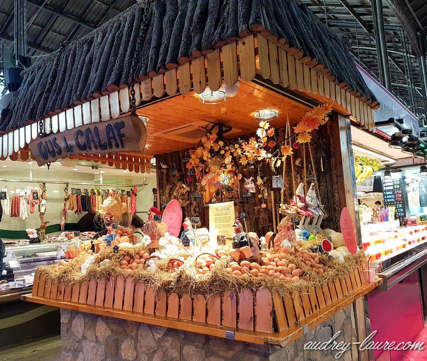 grand marché de Barcelone : la boqueria