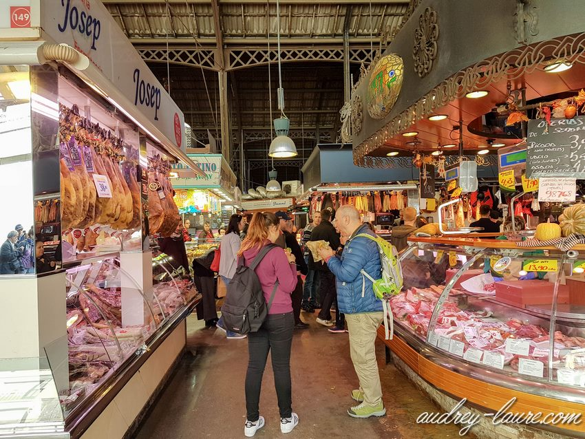 Boqueria marché Barcelone voyage en Espagne