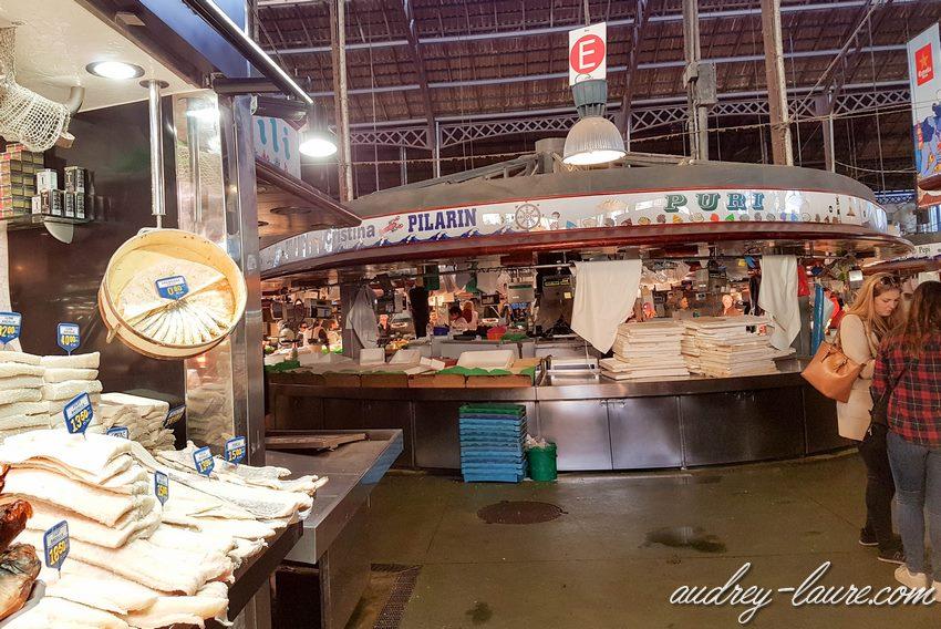 Voyage à Barcelone - marché aux poissons