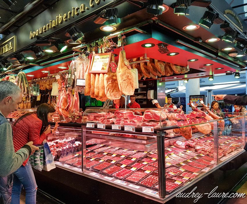 Voyagre à Barcelone : jambon ibérique