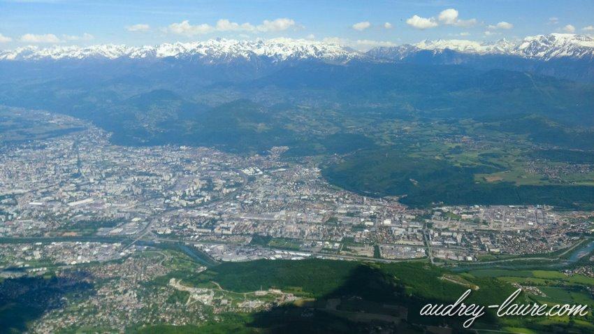 Moucherotte - vue sur Grenoble