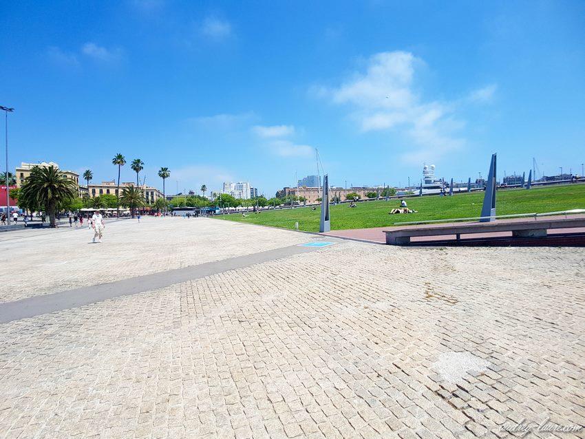 Parc - Barcelone - Rambla de Mar