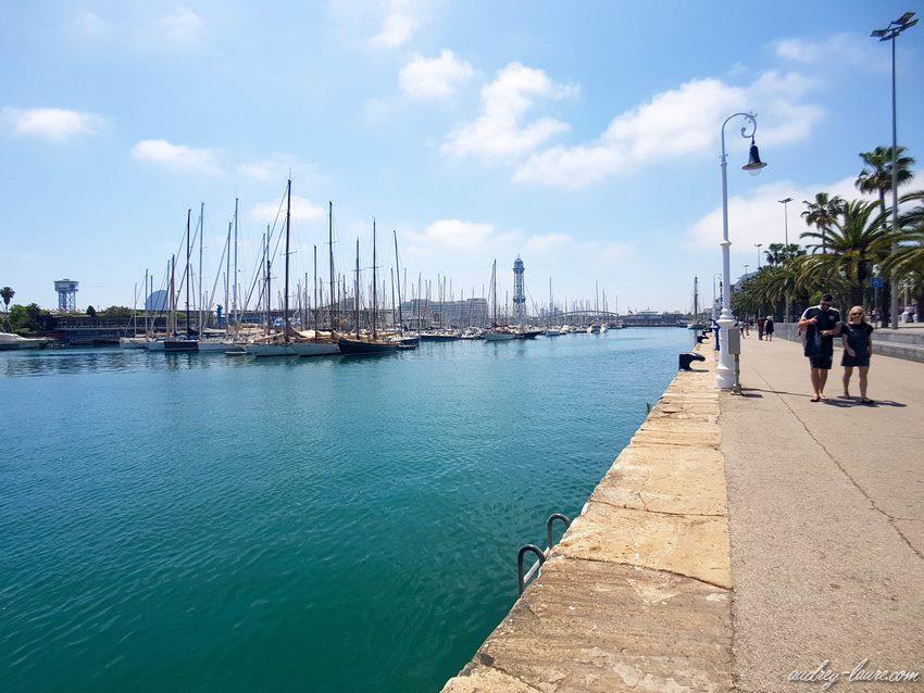 Rambla de Mar - Barcelone