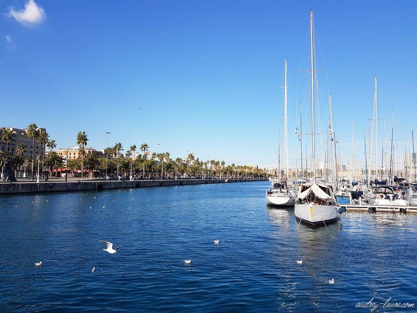 Barcelone - port