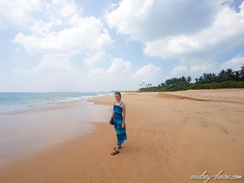 Plage déserte - Sri Lanka - paradis  les plus belles plages
