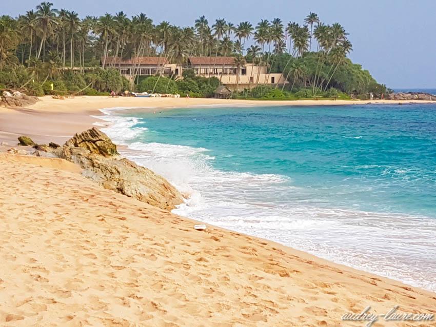 Plage de Tangalle -  les plus belles plages du Sri Lanka