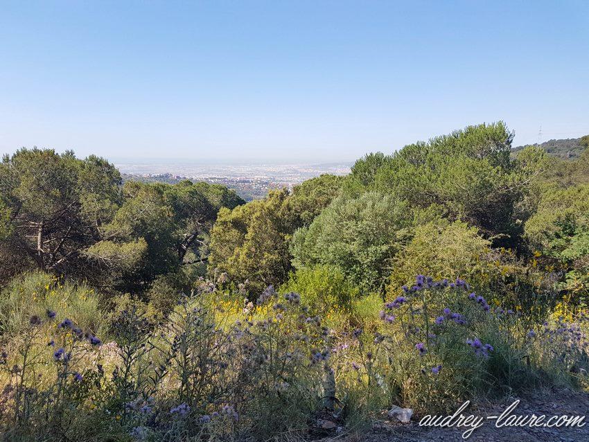 Randonnée près de Barcelone