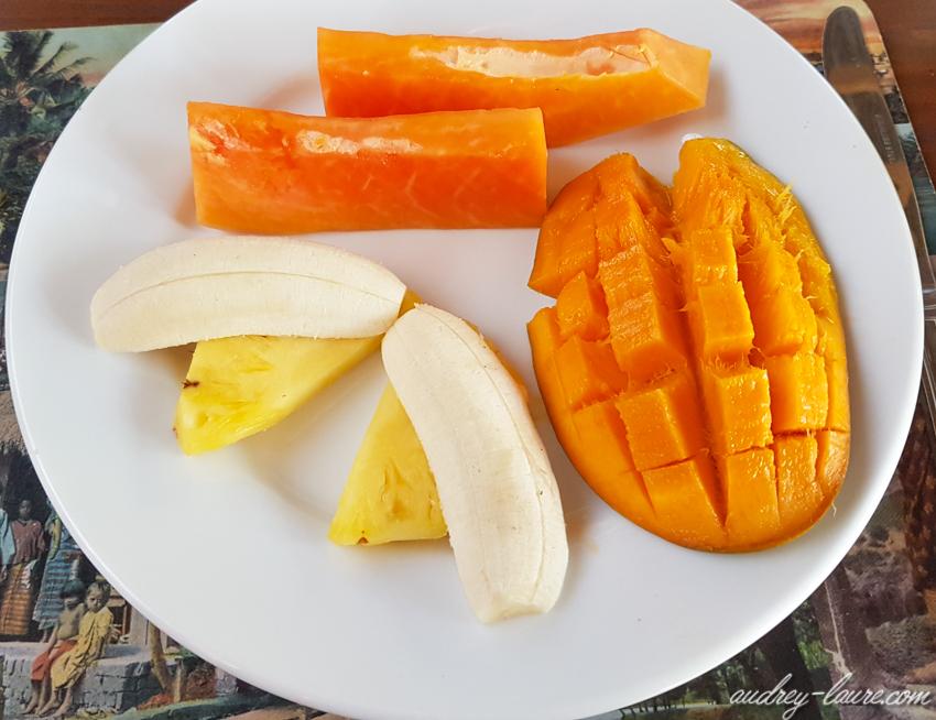 Fruits exotiques du Sri Lanka