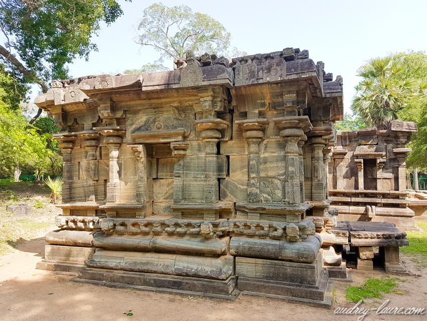 Polonnaruwa - voyage au Sri Lanka